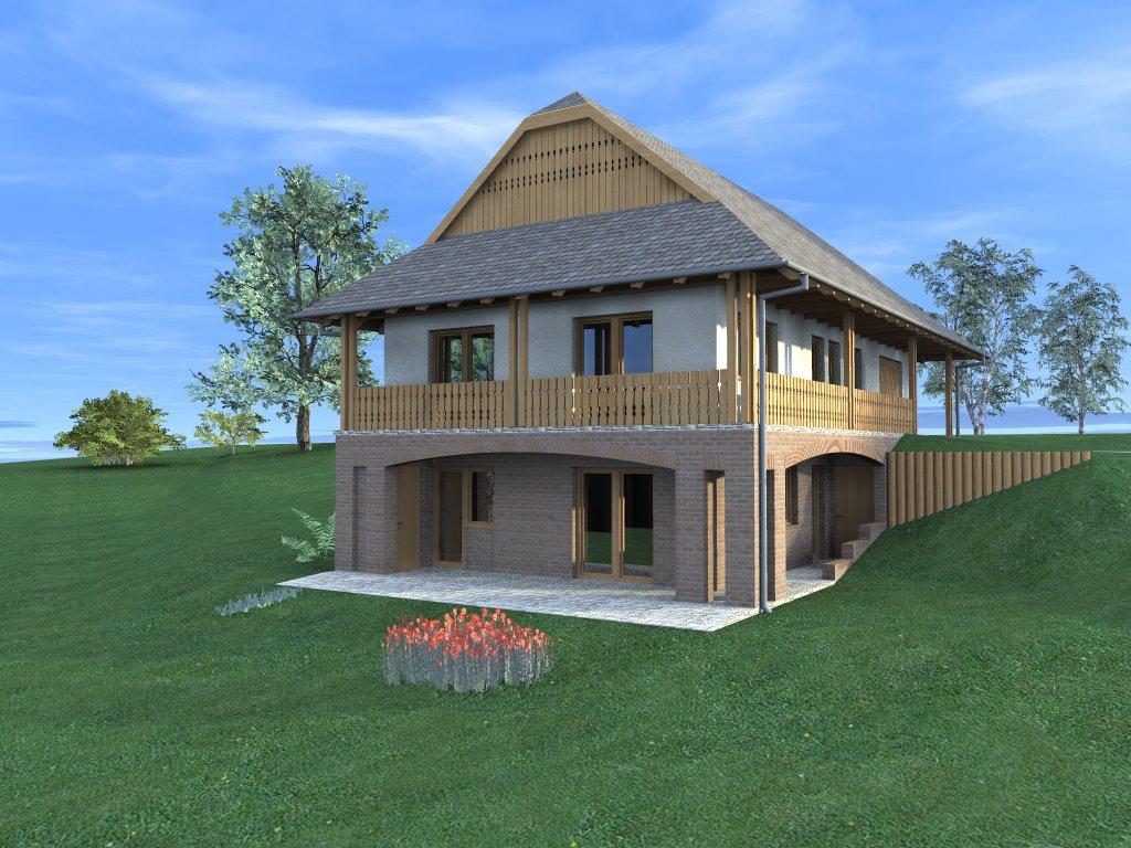 Magyar ház - palóc ház Galgahévízen