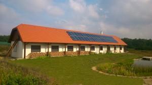 Parasztház (családi ház) építése természetes anyagokból